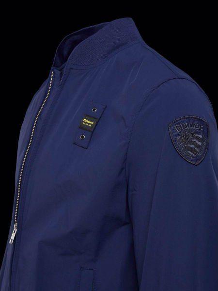 una giacca di color blu con la cerniera