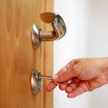 opening the door lock