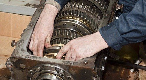 Transmission being rebuild by professionals in Sharonville, OH