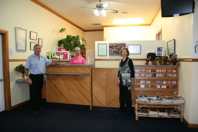 Chiropractors at our clinic in New Plymouth