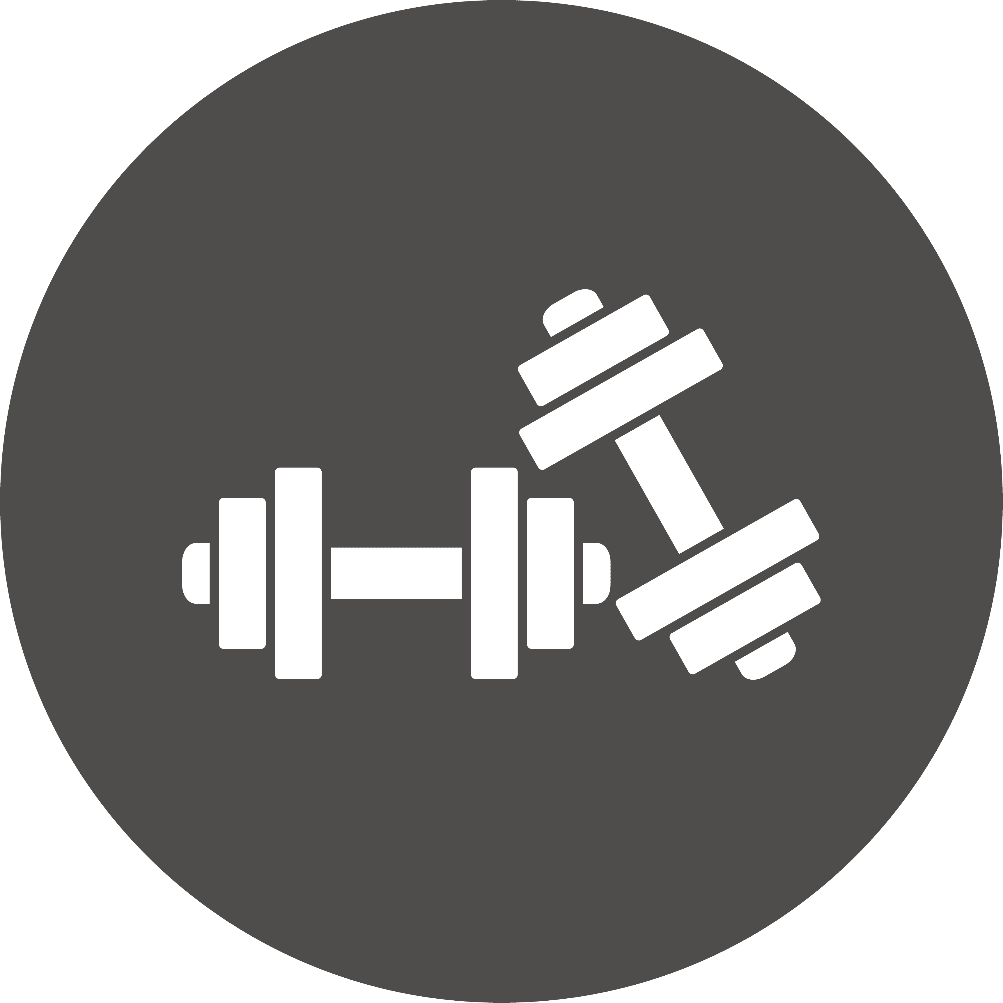 icona pesi per braccia
