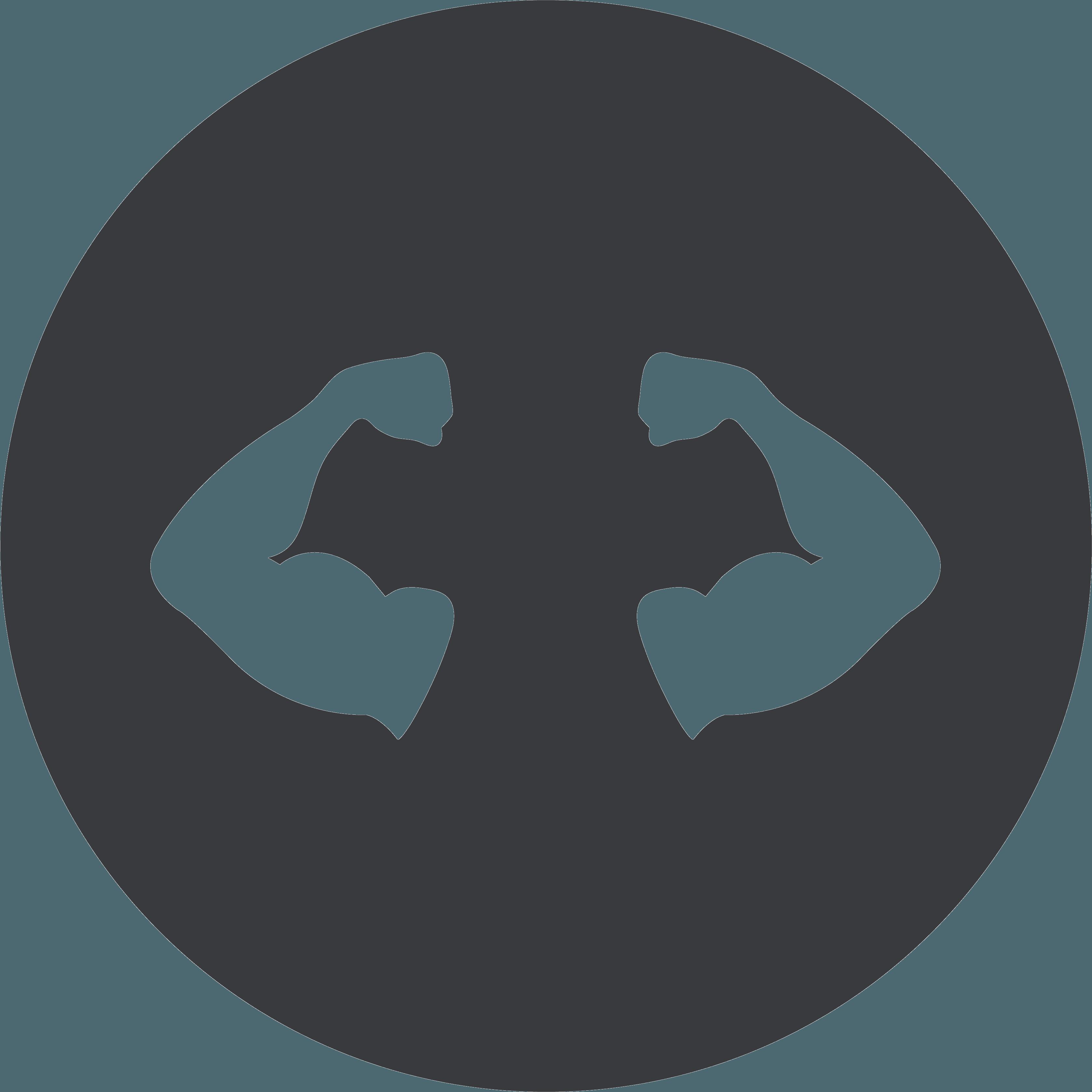 icona muscoli braccia