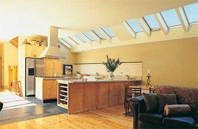 Home With Skylight Installation In Schenectady Catskill Ny