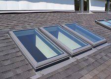 Newly Installed Roofing Skylights, Albany NY