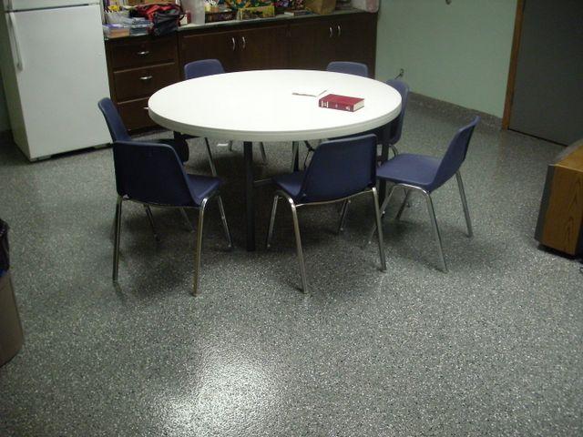 Epoxy Flooring For Dining Hall Wichita KS