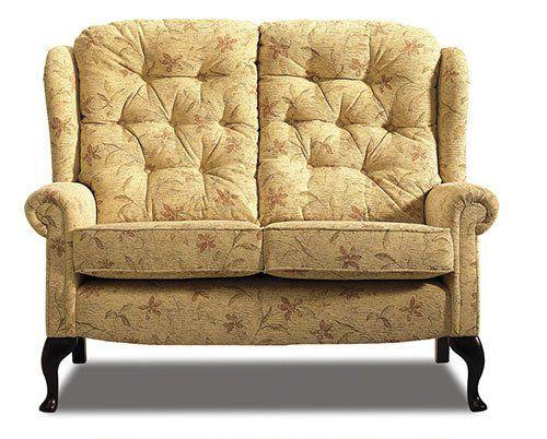 isolated vintage sofa