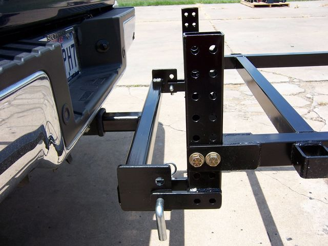 Single Wheel Trailer Hitch Bar