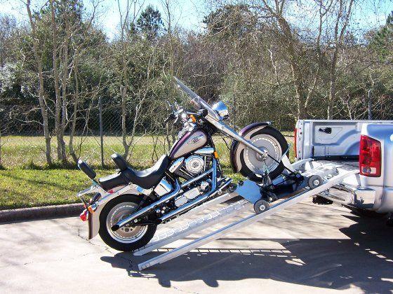 Electric Motorcycle Pickup Loader