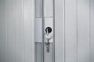key on a lock