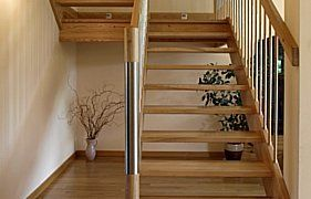 modern staircase newels
