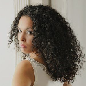 lady with dark hair