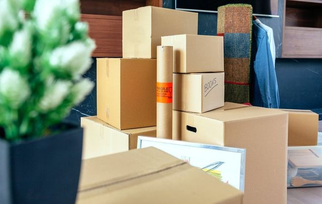 Image of packed boxes in a dorm room & Long Term u0026 Short Term Self Storage Units in Dunkirk NY   Danu0027s ...