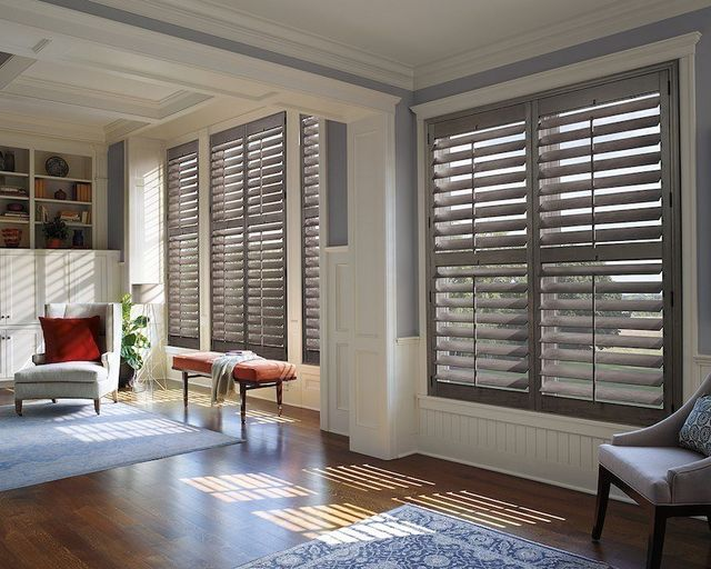 Donu0027t Shy Away From Color U2013 Most People Select Plantation Shutters That  Match Their Windows, But That Doesnu0027t Mean You Have To.