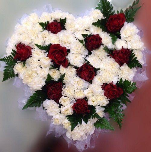 Bouquet bianco e arancione