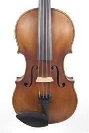 front of Francois Caussin, French violin