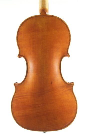 Baroque Violin Back