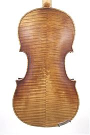 Back of Francois Caussin, old French Violin