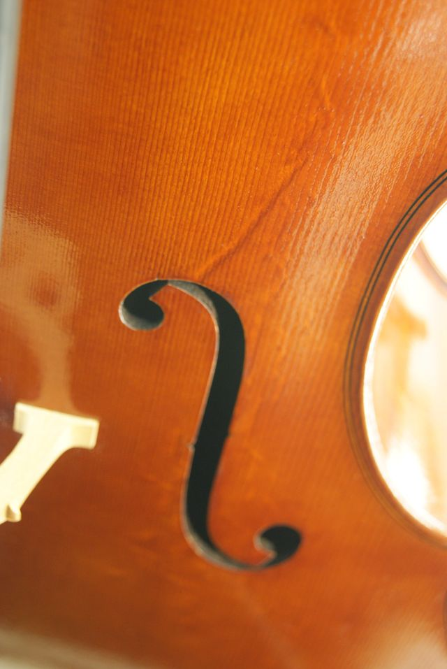 Handmade copy of Italian Cello