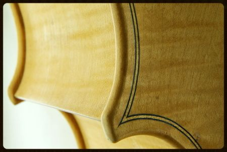 corner of new cello