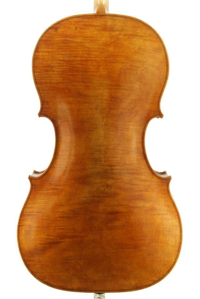 New Rogeri model cello back
