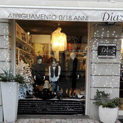 Negozio di abbigliamento Diaz Sessantaquattro a San Miniato