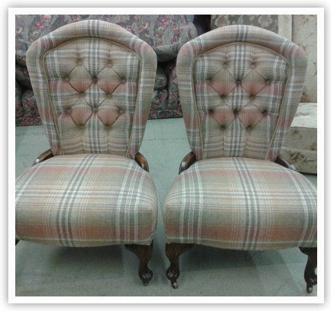 Traditional upholsterer