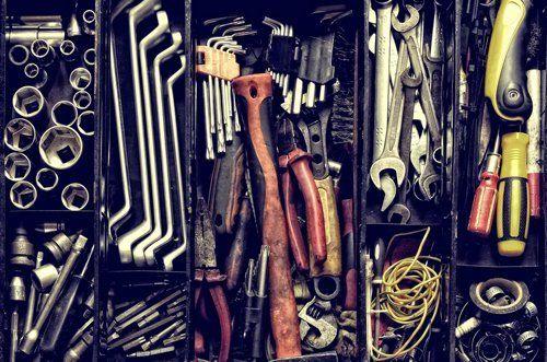 attrezzi ed accessori per l`officina