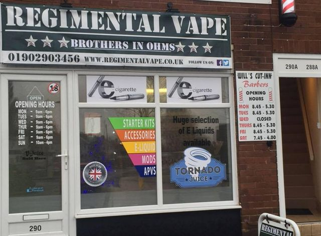 Supplying vaping products