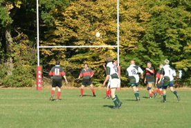 A rugby game