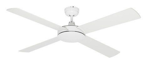 Launceston lighting launceston tas ceiling fans 1300mm white body with painted plywood blades 20900 aloadofball Gallery