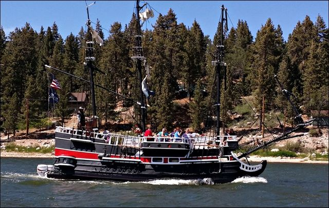 Pirate Ship Lake Cruise Big Bear Lake California