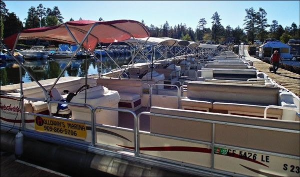 Big Bear boat and fishing pontoon rentals
