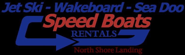 Speed baot and wakeboarding rentals in Big Bear Lake at North Shore Landing in Big Bear Lake California
