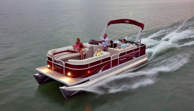 Premium luxury pontoon and party barge rentals