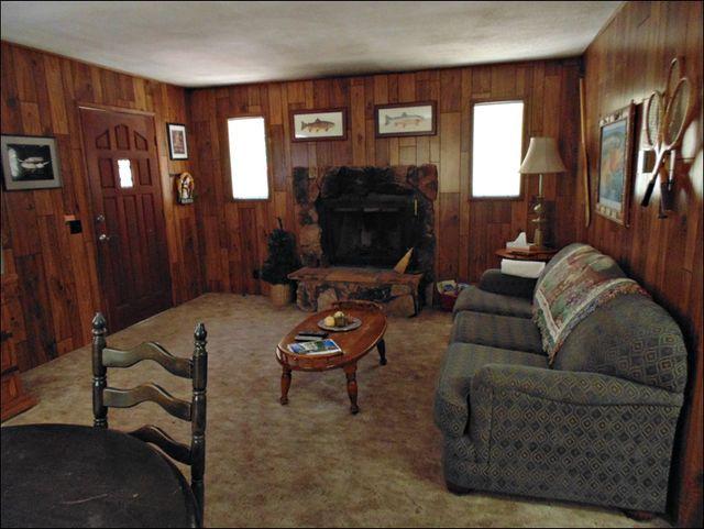 fully furnished cabin rental Big Bear Lake