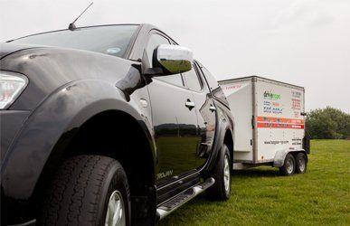 Top Gear training vehicle & trailer