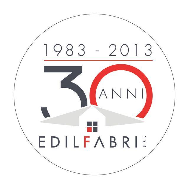 Logo Edilfabri 30 anni