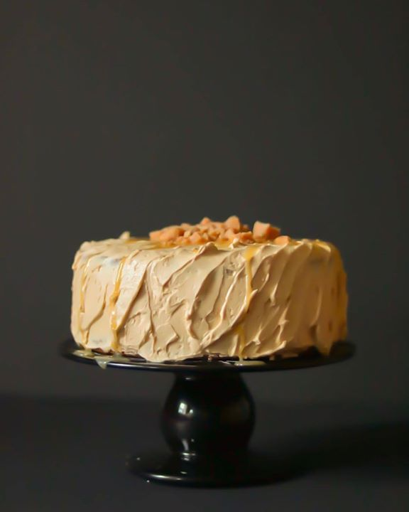 Butterscotch Angel Delight Cake