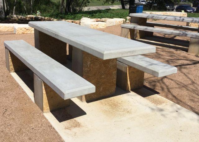 Concrete Picnic Tables Houston Dallas San Antonio Austin