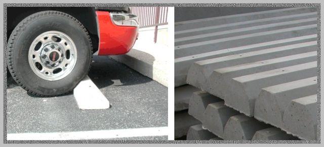 Concrete Car Stops