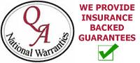 QA national warranties logo