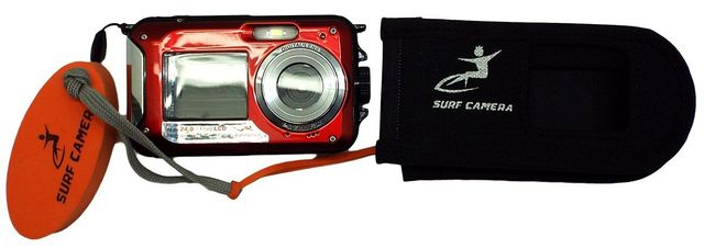 Surf Camera displayed out of case