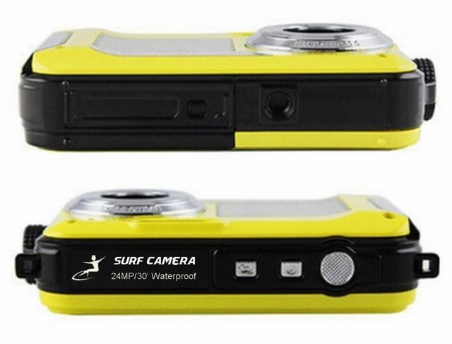top and bottom view of Surf Camera