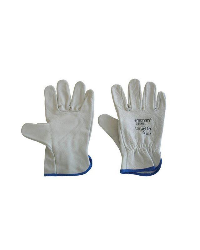 Senza Dita Meccanica Guanti Medium Safety /& Workwear Mano Protezione Silverline
