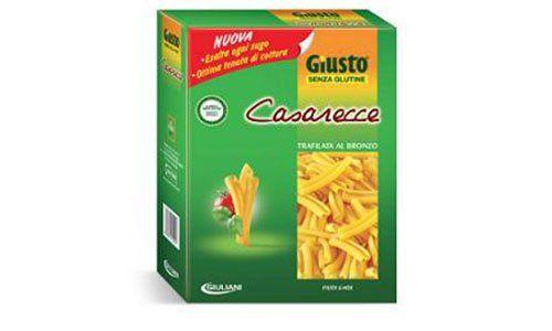 Confezione di pasta senza glutine