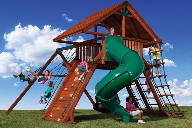 Peak series playset