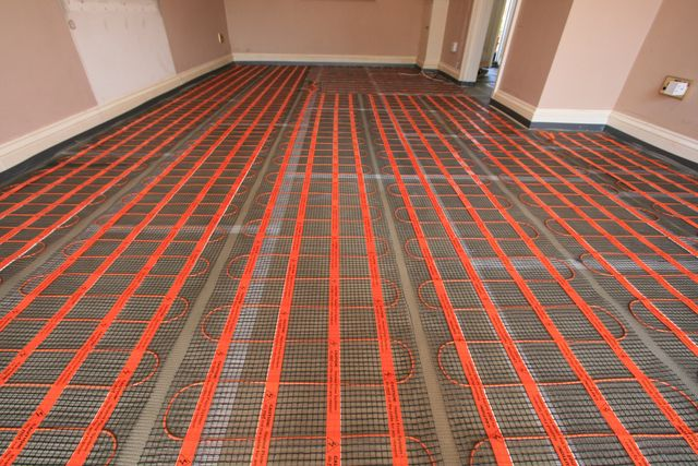 Underfloor Electric Heating Supplied And Installed By Mjr
