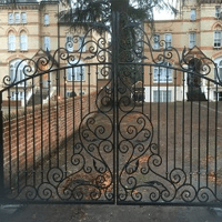 stylish gate