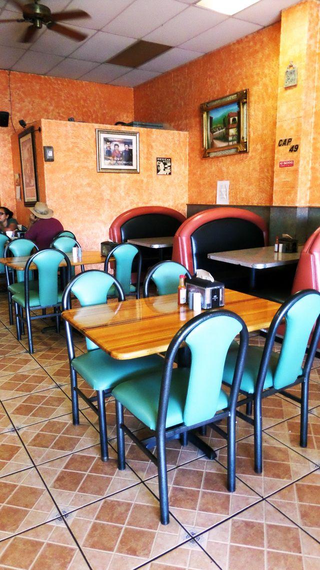 inside Dining at Taqueria