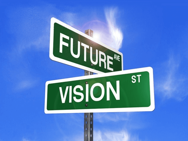 Future and vision direction signage